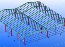 çelik hangar proje tasarım